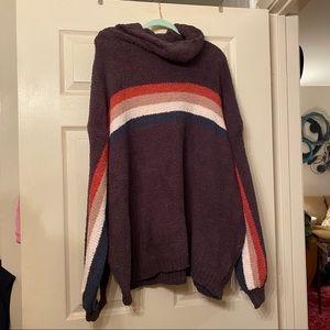 Sweaters - Stripe turtleneck Sweater